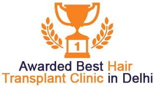 Awarded Best Hair Transplant Clinic in Delhi