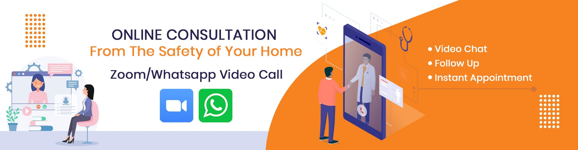 Online Consultation from the safety of your home