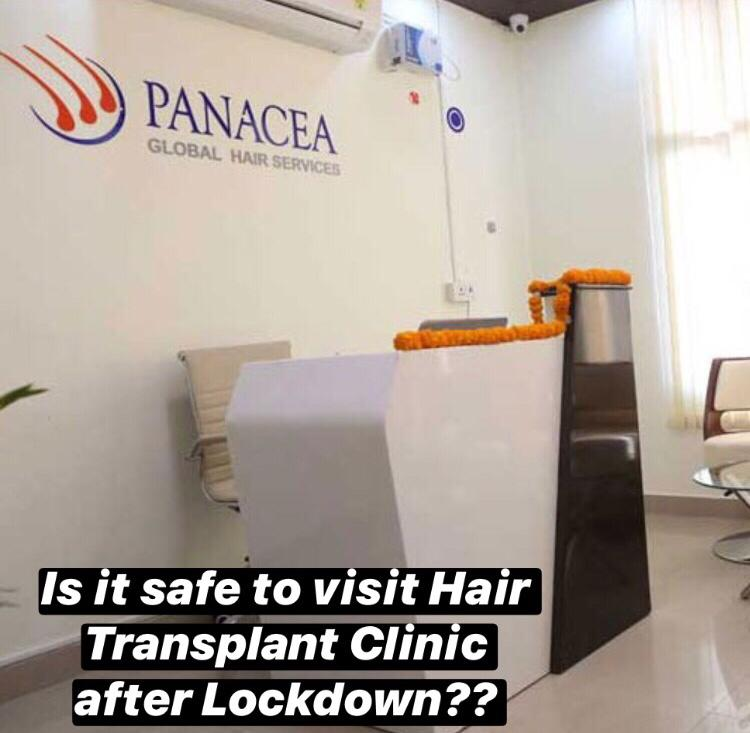 Is It Safe to Visit a Hair Transplant Clinic After Lockdown