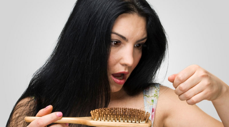 What causes hair loss in Delhi